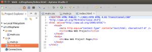 min web setup VM step 2