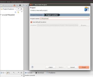 min web setup VM step1